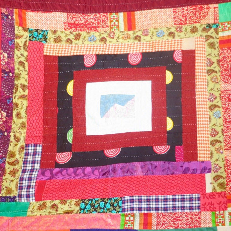 Classic Quilt- Heart of the Himalayas
