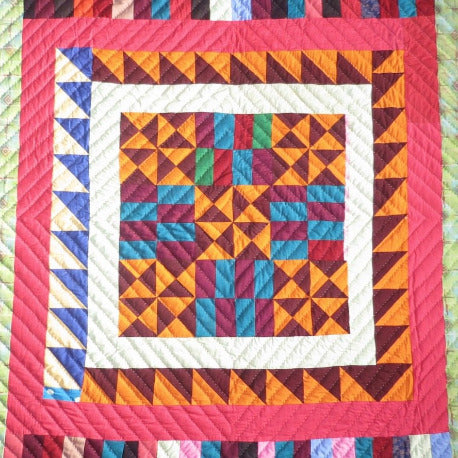 Fancy Quilt- Starburst