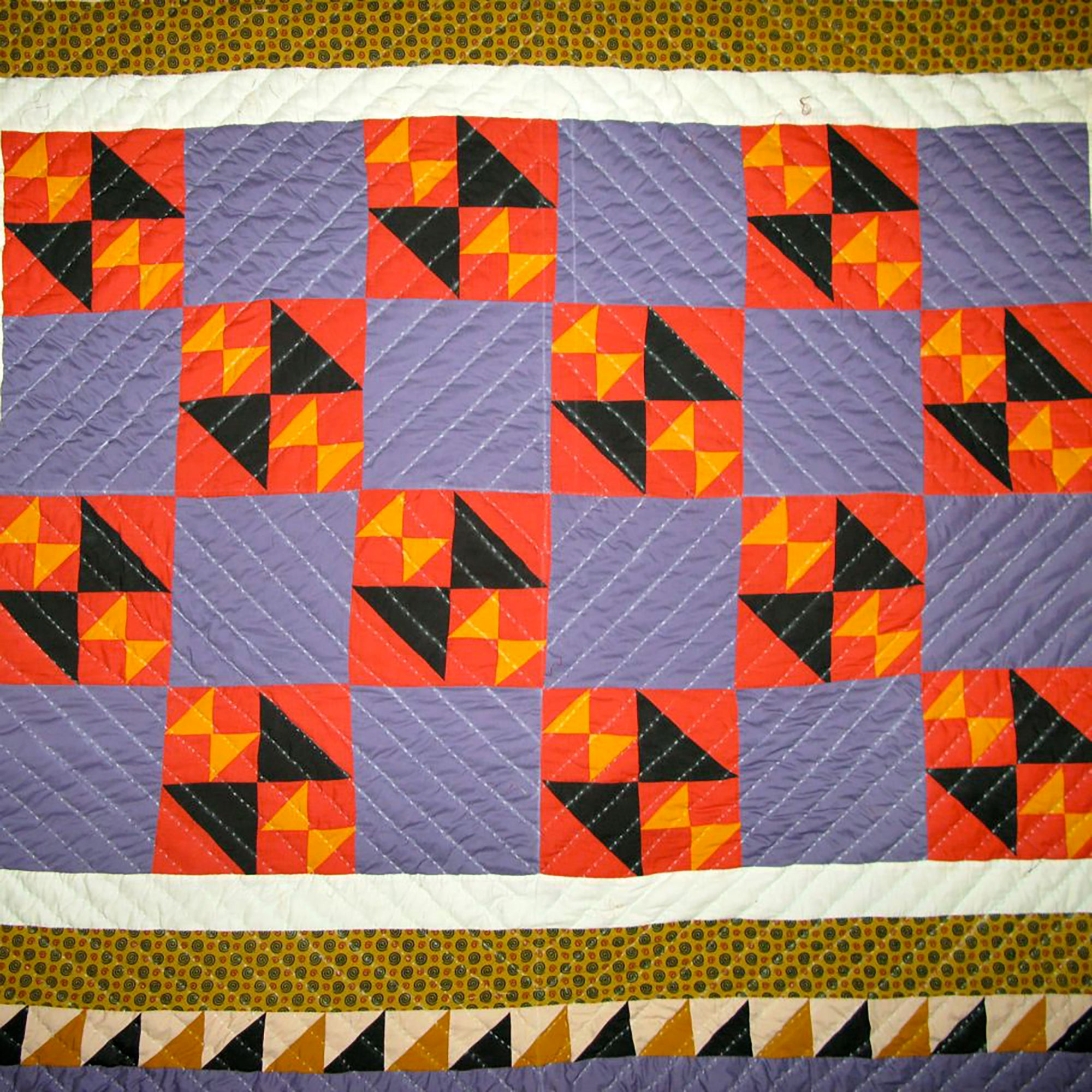 Fancy Quilt- Garden Patch