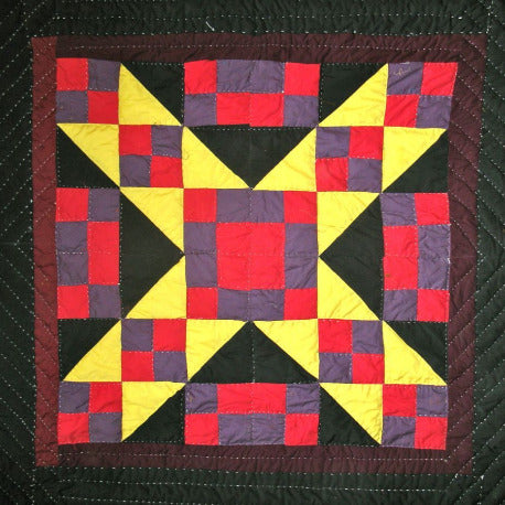Fancy Quilt- Marks The Spot