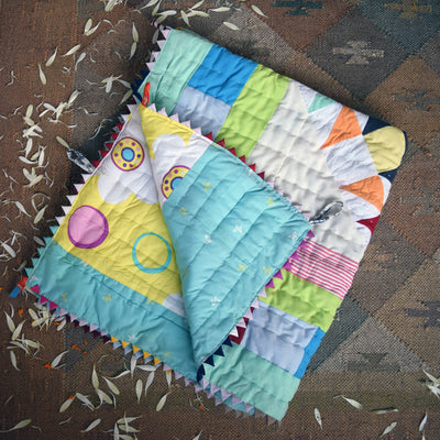 Baby Quilt- Shallow Waters