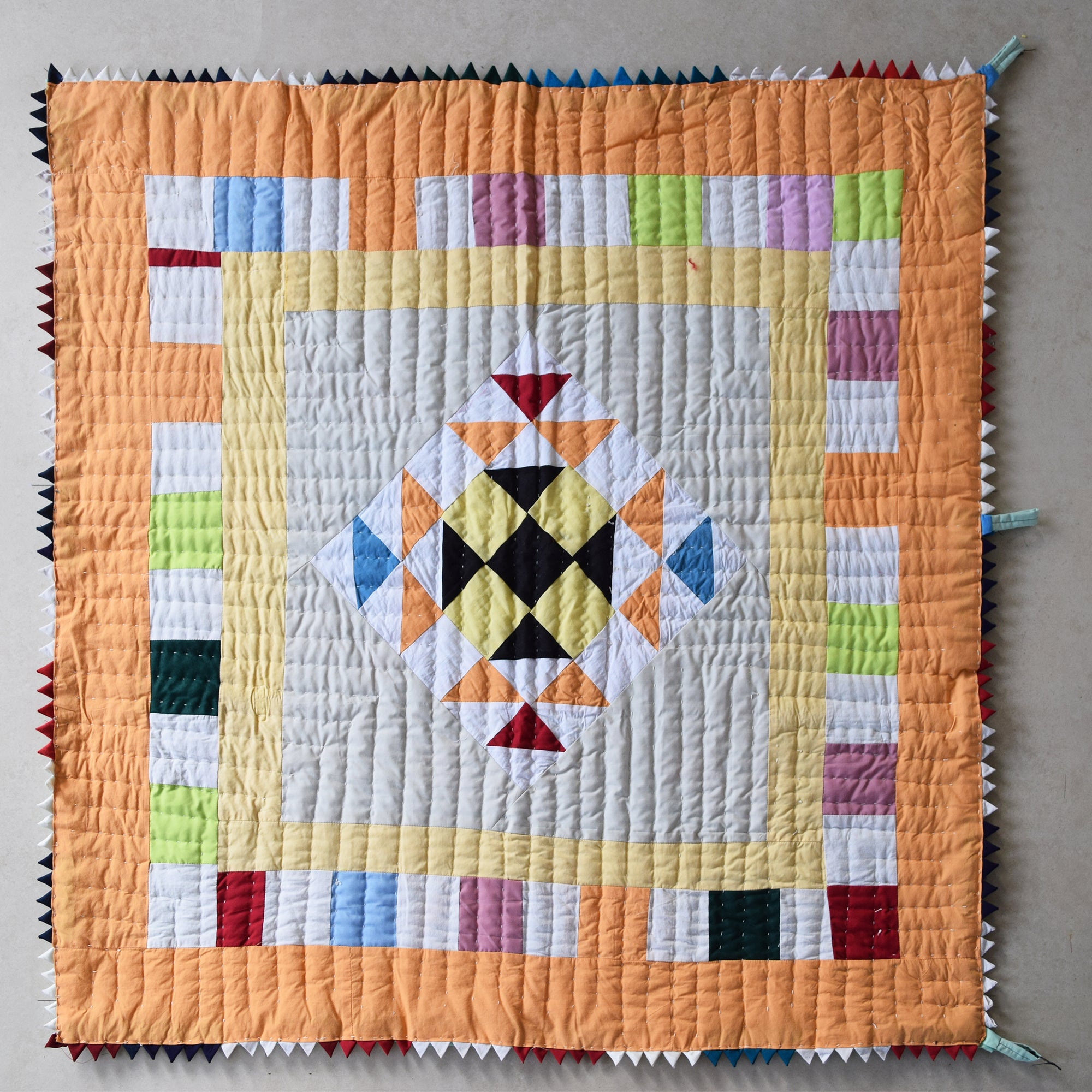 Baby Quilt- Autumn Leaves