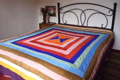 Classic Quilt- Orange Ade