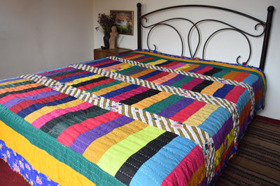 Classic Quilt- Snake Stripes