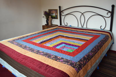 Classic Quilt- Spiral Staircase