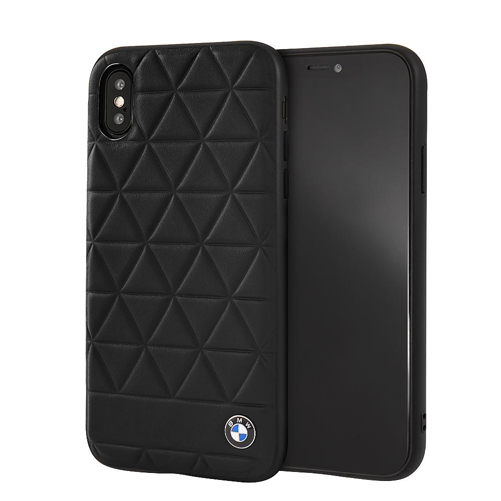 BMW Genuine Leather Rigid Case iPhone XS Max (Black) Mobile Cases BMW