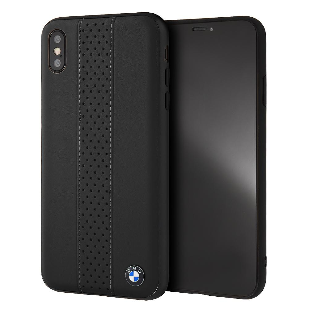BMW Genuine Leather Rigid Case iPhone XS/X (Black) Mobile Cases BMW