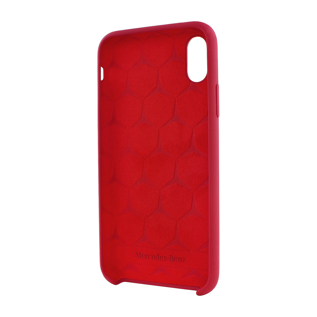 Mercedes-Benz Liquid Silicone Case iPhone XS/X (Red) Mobile Cases Mercedes-Benz