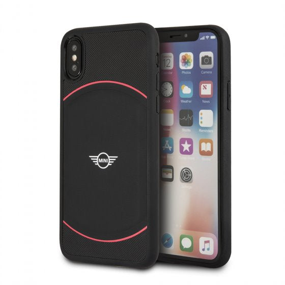 Mini Cooper Black Red Soft Phone Case for iPhone XS/X Mobile Cases Mini