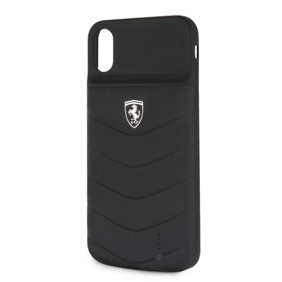 POWER CASE OFF TRACK - 3600mAH - Lithium Battery - Debossed Lines - Full Cover- Rubber Finish - Black Power Banks Ferrari