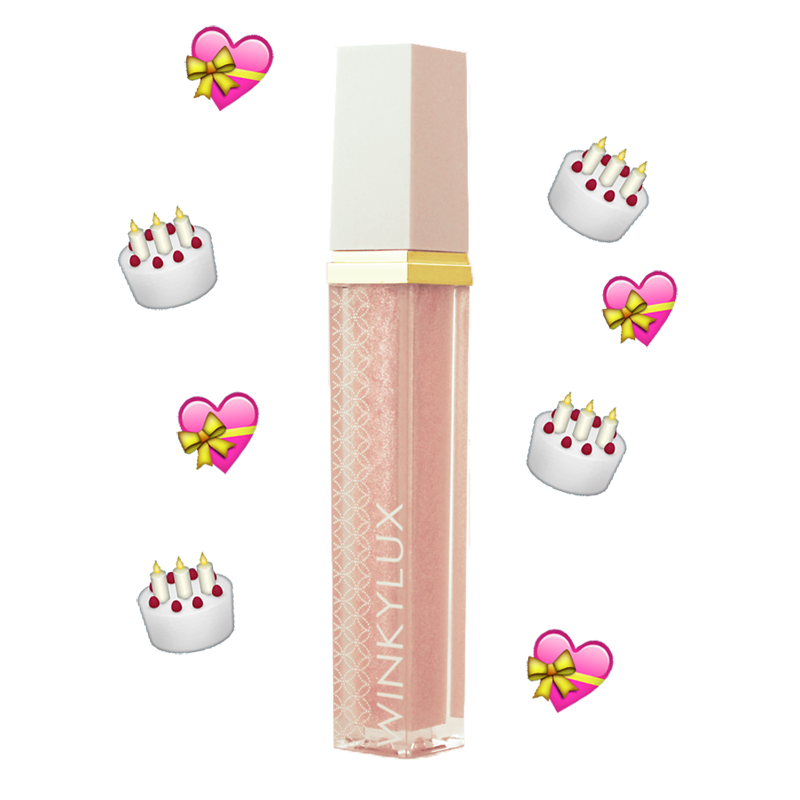 Glossy Boss Lip Gloss - Birthday Cake