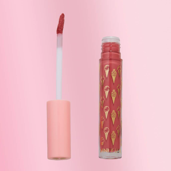 Double Matte Whip Liquid Lipstick in shade Lolli