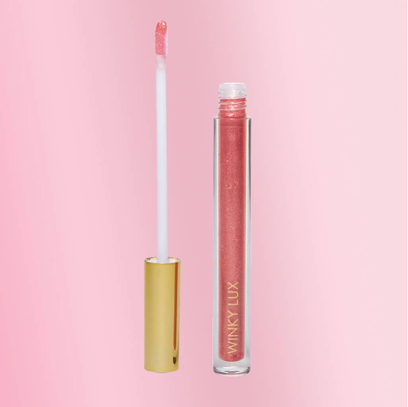 Glazed Lips Donut Lip Gloss - Praline Glaze