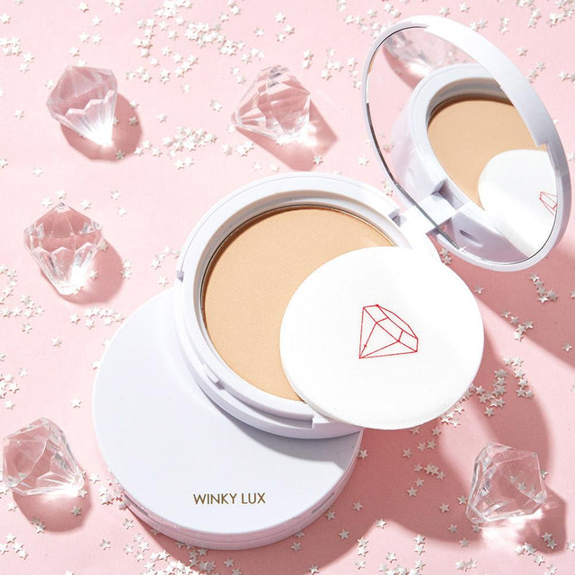 Diamond Powder Foundation - Light
