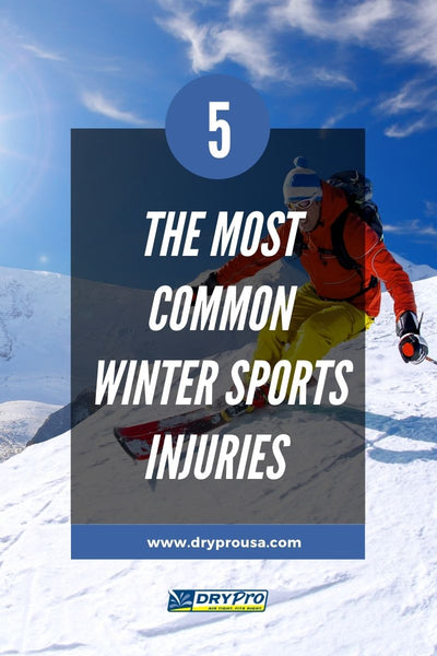 5 of The Most Common Winter Sports Injuries