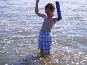 Testimonial – Happy 6 year old at the beach!