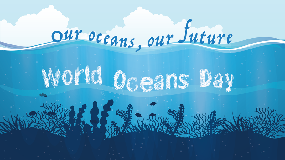 Don't let a cast get you down on World Oceans Day