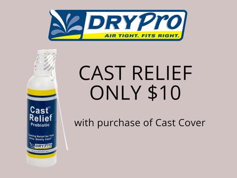 cast relief spray