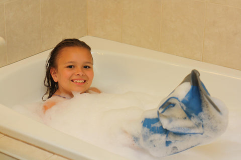 Shower and Bathe with a DryPro Waterproof Cats Cover Kids and Adults