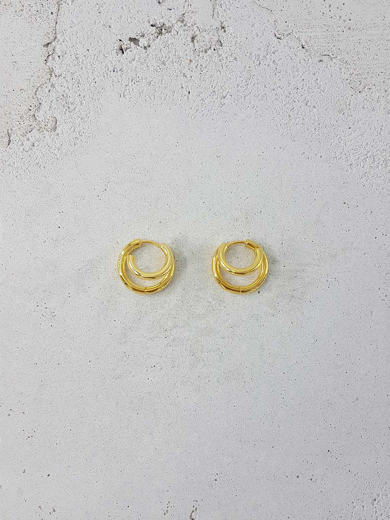 BONDI HOOPS 18k GOLD