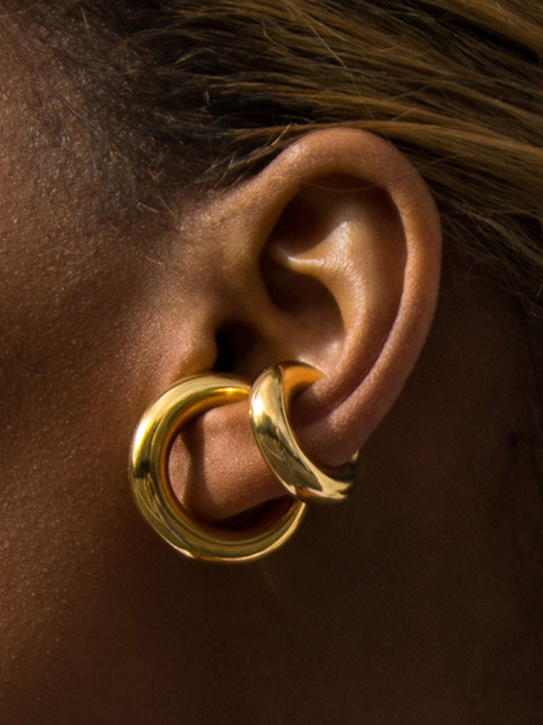 DAVIDE EAR CUFF GOLD