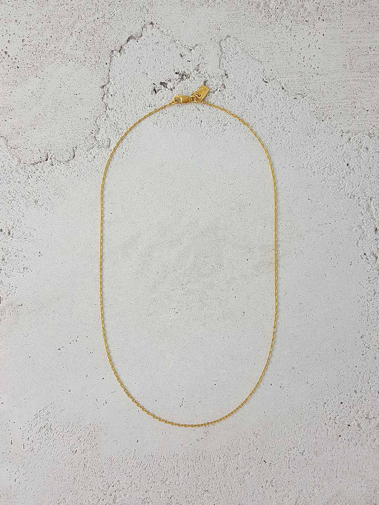 MARINA NECKLACE 22K GOLD