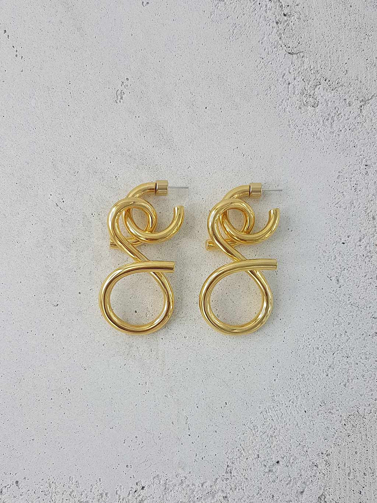VENEZIA EARRINGS 18K GOLD