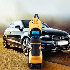 "🔥60% OFF🔥Brand New Digital Car Tire Air Pump-【Use code ""pump"" for 10% OFF】"