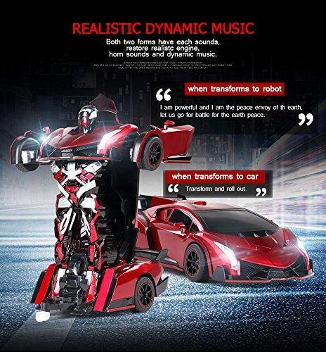 Buy 2 FREE SHIPPING! The Magic Transformation Remote Control Car & Car model