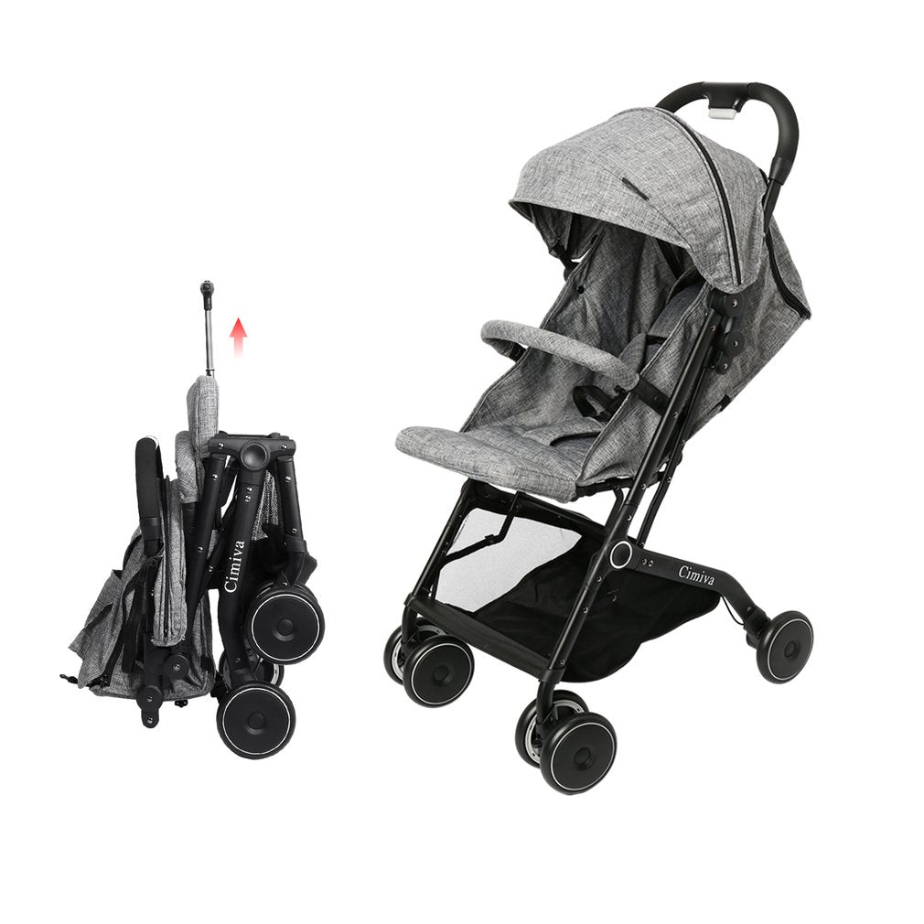 Cimiva Baby Infant Convenience Stroller Lightweight Aluminum Frame Compact