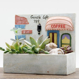 Creative Micro Landscape Flower Pot Hanging Garden Design Flowers Baskets  Succulents hanging micro landscape pots
