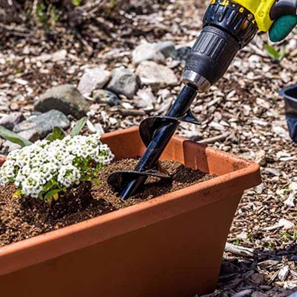 Power Planter Drill Awesome Power Planter™ For Seedlings