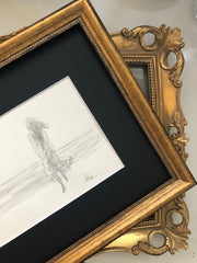 two Gold Frames