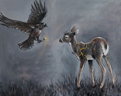 Kintsugi - The Raven and the Fawn