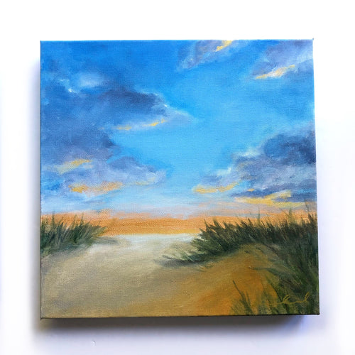 'Distant Horizons' - 12x12 Oil and Acrylic