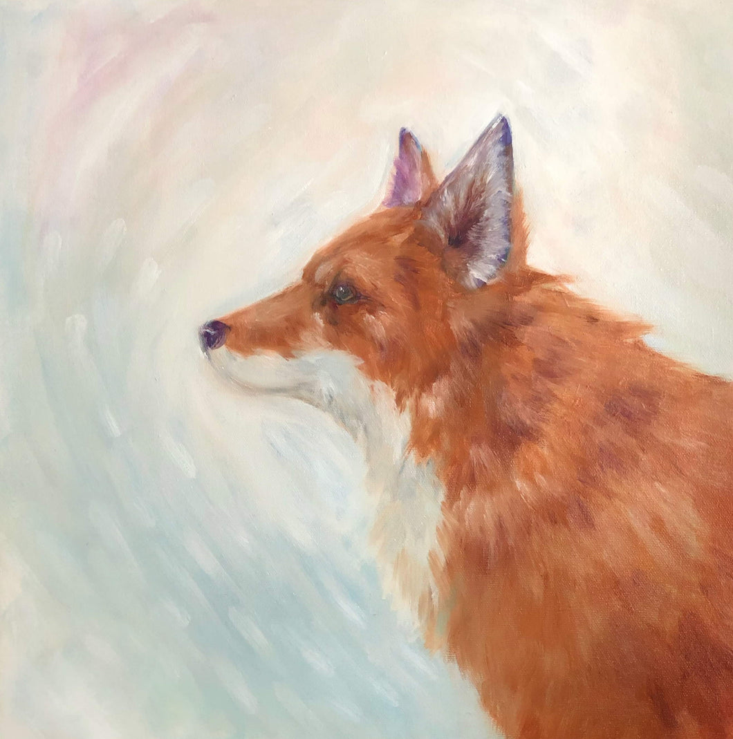 Mr. Fox - Original Oil Painting