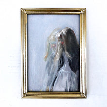 Load image into Gallery viewer, 'Reflections' - 5x7 Figurative Oil Painting