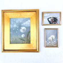 Load image into Gallery viewer, 'Dandelion Dreams II' - 5x7 Nature Oil Painting