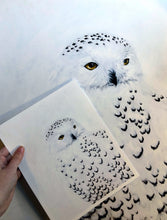 Load image into Gallery viewer, 'Snowy Owl' Fine Art Print