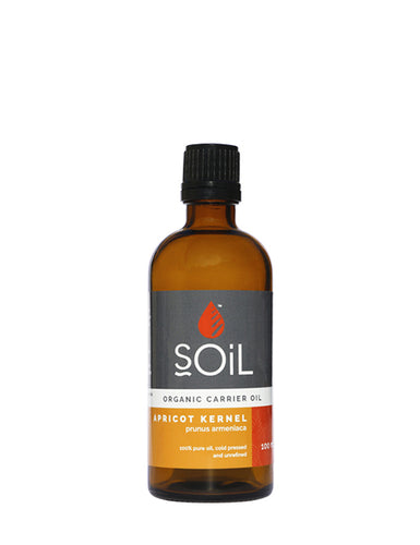 Organic Apricot Kernel Oil (Prunus Armeniaca) 100ml