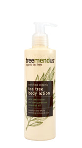 Organic Tea Tree Body Lotion 250ml