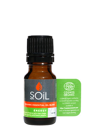 Energy - Organic Essential Oil Blend