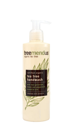 Organic Tea Tree Handwash 250ml
