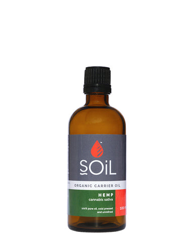 Organic Hemp Seed Oil (Cannabis Sativa) 100ml