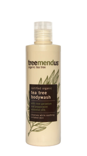 Organic Tea Tree Body Wash 250ml