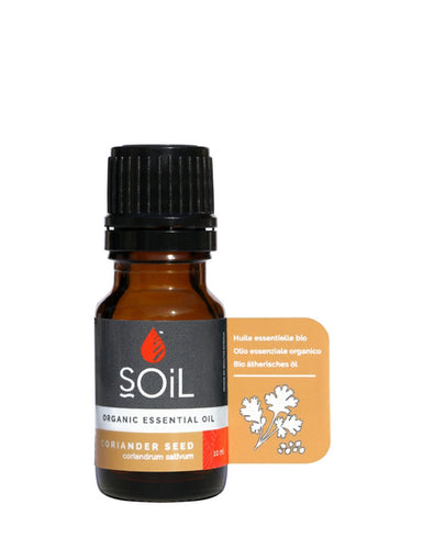 Organic Coriander Seed Essential Oil (Coriandrum Sativum) 10ml