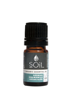 Organic Chamomile, German Oil (Matricaria Recutita) 5ml