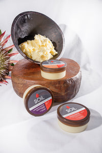 Organic Shea Butter - Citrus Scented 100ml