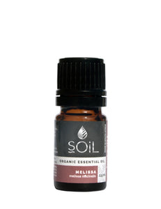 Organic Melissa Essential Oil (Melissa Officinalis) 2.5ml