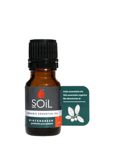 Organic Wintergreen Essential Oil (Gaulteria Procumbens) 10ml